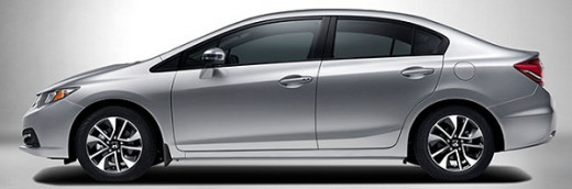 2015 Honda Civic side view