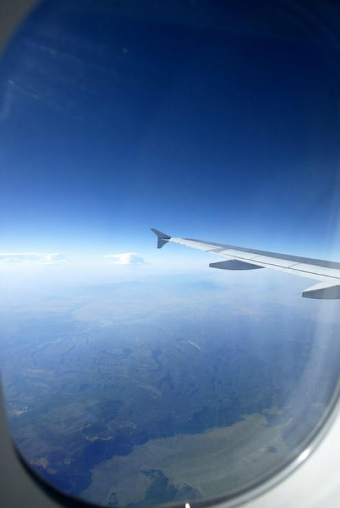View from 30,000 feet