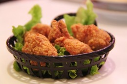 Use your homemade bread crumbs to make delicious fried chicken