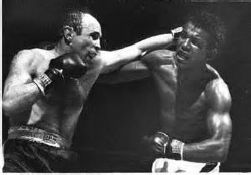Georgie Abrams took on all 160 pound prizefighters of his day including Sugar Ray Robinson.