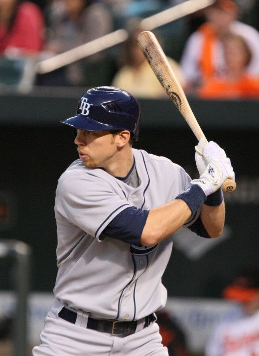 Utility man Ben Zobrist while on the Rays