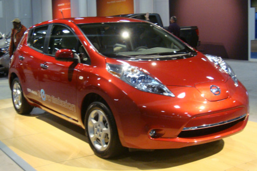 Nissan Leaf electric version