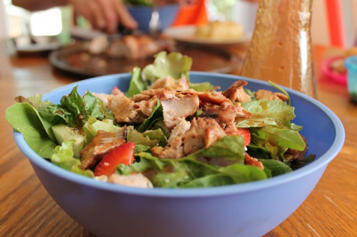 A salad can be so versatile, refreshing, easy to make and satiating ... just perfect