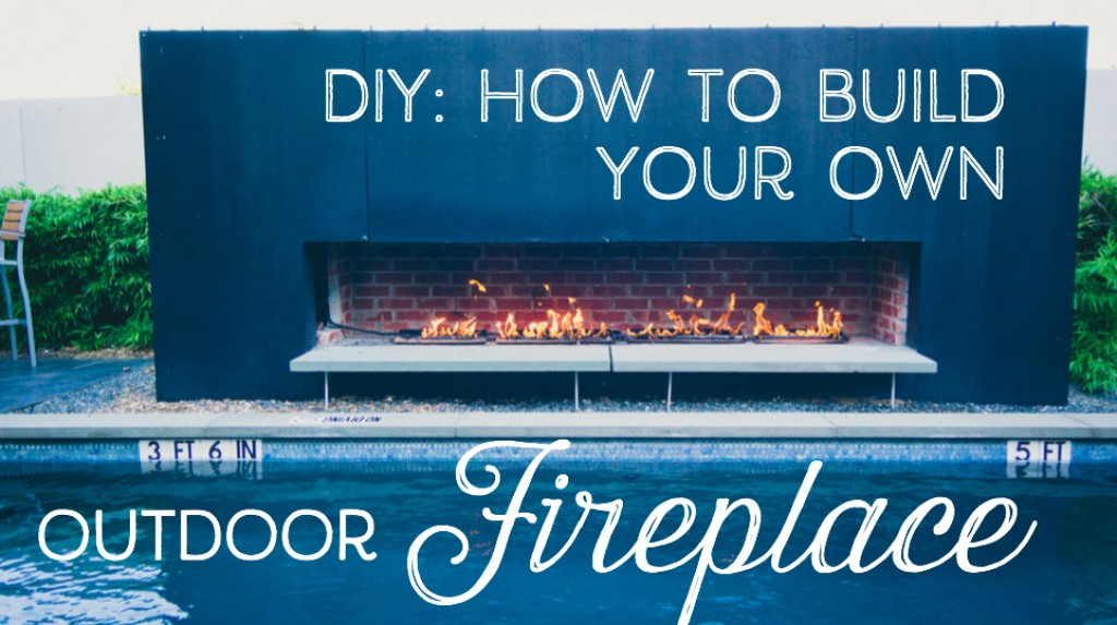 Step By Guide To Building An Outdoor Fireplace Or Fire Pit Dengarden