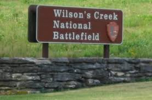 Entrance to Wilson's Creek