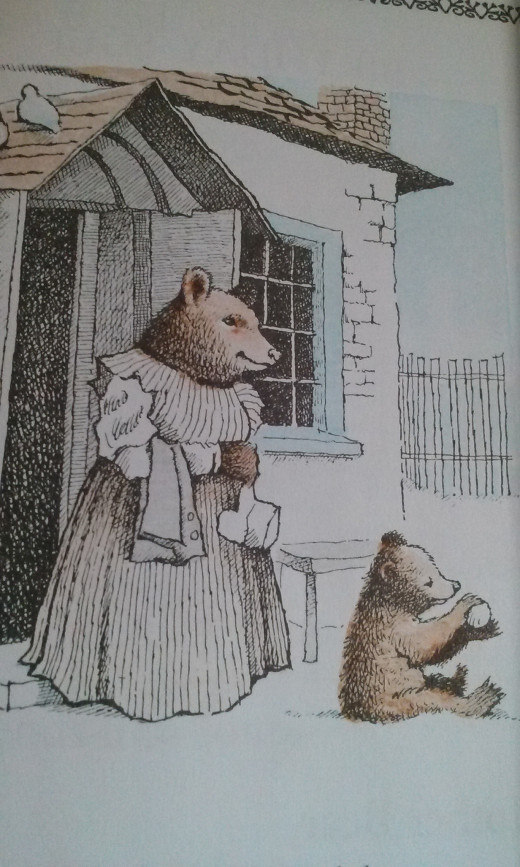 The illustrations by Maurice Sendak are fantastic.