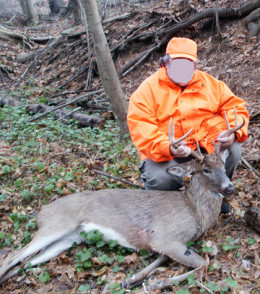 High Tech Deer Hunter with his Prey!