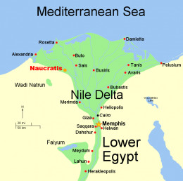 Deltas formed and gave rise to human settlement