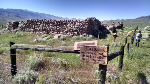 Ruins of Cold Springs Pony Express