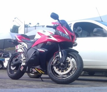 All items mentioned fitted to this CBR600RR, additional 17hp added.