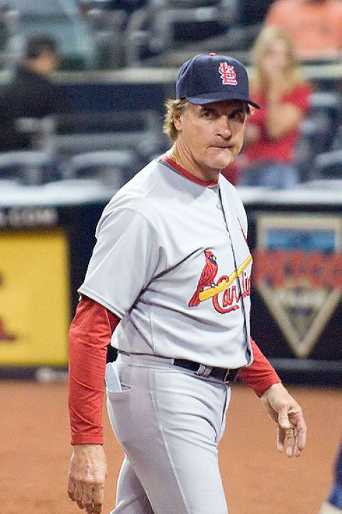 Tony La Russa as manager of the St. Louis Cardinals baseball team