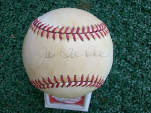 My personal baseball signed by Joe Torre while manager of the St. Louis Cardinals