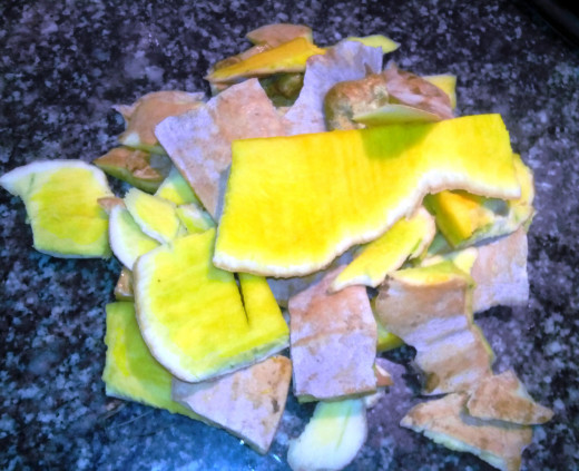 Pumpkin skin - peels