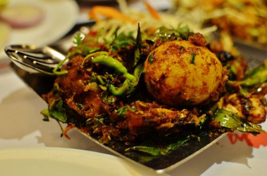 Andhra Chicken Chiilies Fry