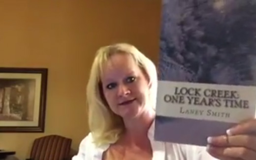 A screenshot from Laney Smith's first video, used with Laney's permission.