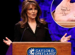 The GOP created this monster. Sarah Palin