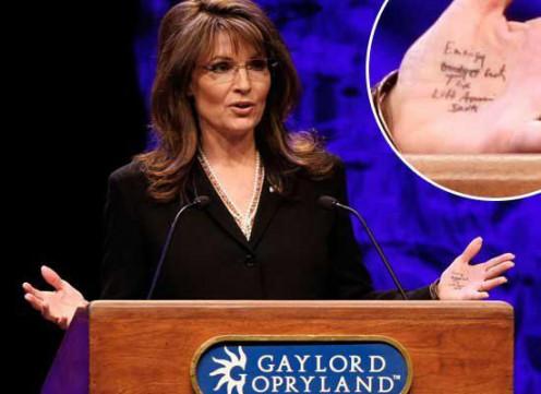 The GOP created this monster. Sarah Palin