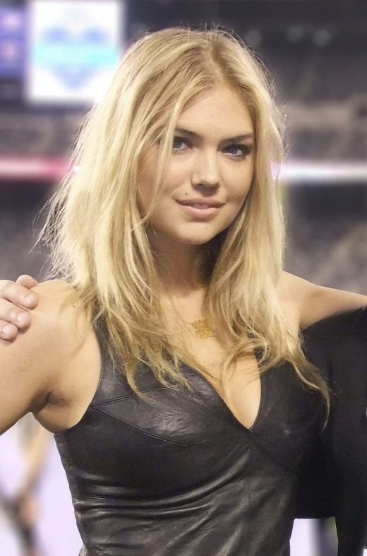 """Kate Upton at 2011 Jets VIP draft party (crop)"" by Peter Ko. Licensed under CC BY 3.0 via Wikimedia Commons"