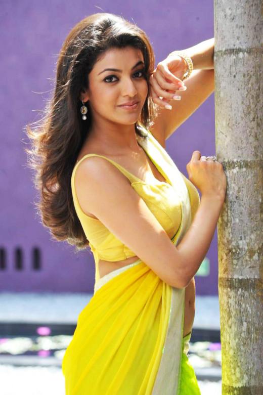 Kajal Agarwal - Hot in yellow saree