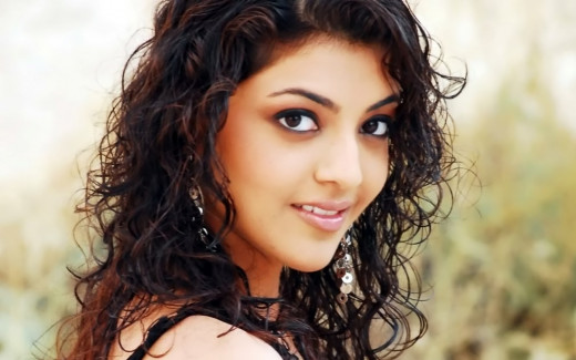 Kajal in her early days in her career. Very Sweet and Cute.