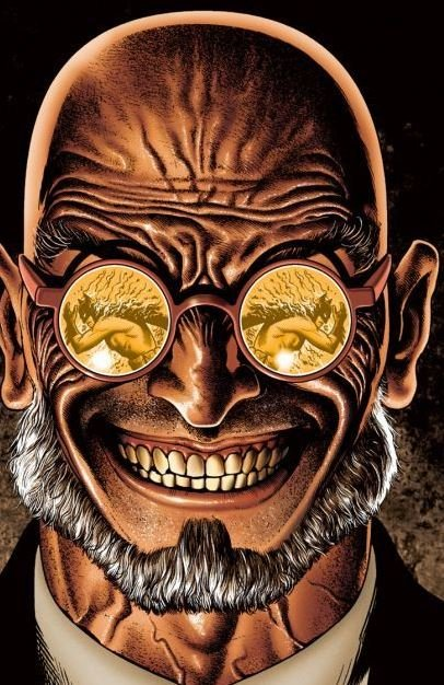 Professor Hugo Strange, as illustrated by Brian Bolland.