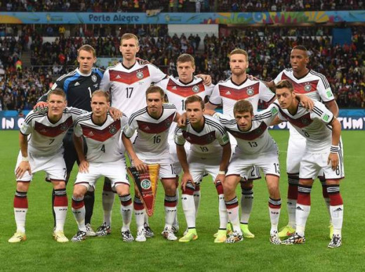 Germany World cup winning team of 2014 in Brazil