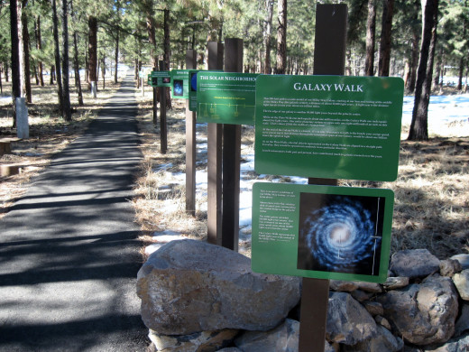 Galaxy Walk At Lowell Observatory