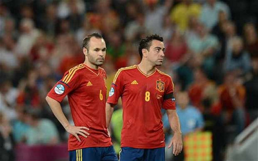 Xavi and Iniesta, Best Midfielder in the World