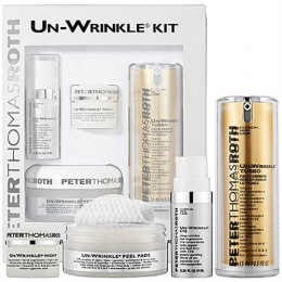Un-Wrinkle TurboTM Face Serum 0.5oz / 15ml Un-Wrinkle Night 0.3oz Un-Wrinkle Eye 0.3oz / 9ml Un-Wrinkle Peel Pads 20 pads