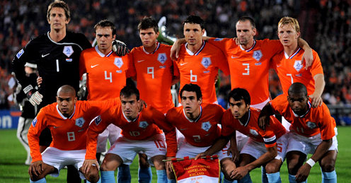 Orange Boys, Netherlands National team of 2010 World cup