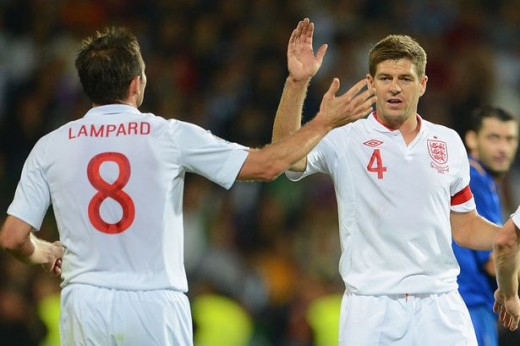 Frank Lampard and Steve Gerrard