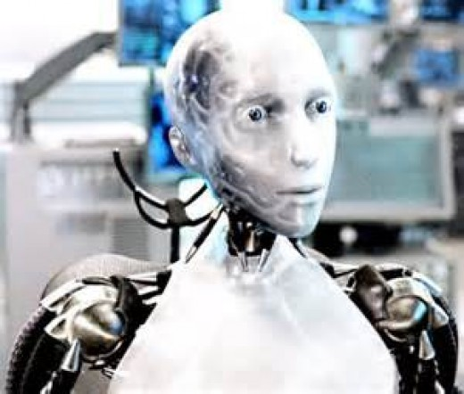 In the film I Robot the robots were able to think for themselves.