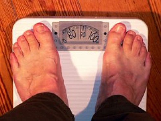 Just 30 pounds over an ideal weight constitutes obesity.