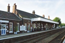 Wymondham Station, Norwich platform,