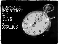 Learn How to Hypnotize Someone in Five Seconds