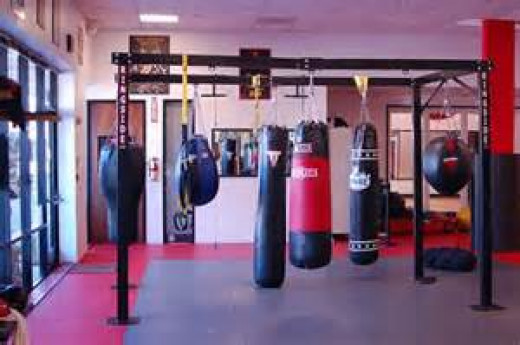 Boxing gyms is where the hardest work takes place before the bout.