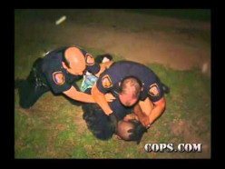 Teamwork plays a big part in all police work.