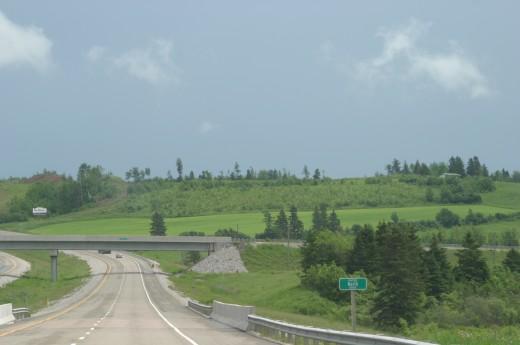 Driving Through Eastern Canada, 2006