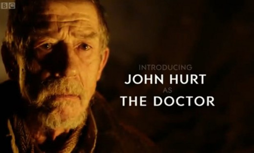 "John Hurt's incarnation of the Doctor first appeared in 2013's ""The Name of the Doctor"" and has since starred in a handful of TV episodes, comics, and novels."