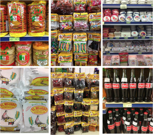 Corn filled products include flour, candy, soda, tortillas and cheese (cow eat corn).