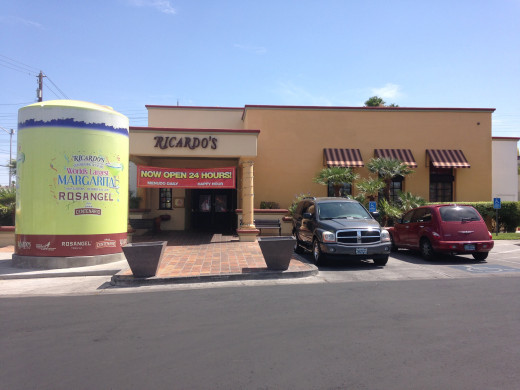 Ricardo's is a family-owned Mexican Restaurant located at Flamingo and Decatur