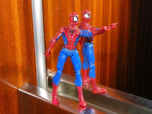 spiderman adorable figure.