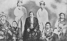 Meskwaki Indians who established settlement 1857