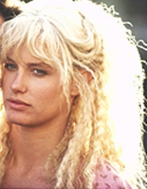 Daryl Hannah in her young and beautiful days.