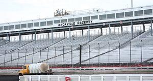 Knoxville Raceway Grandstands