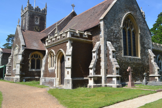 Princess Charlotte was Christened today in St Mary Magdalene Church. The christening service was performed by the Archbishop of Canterbury in the small church on the Queen's Sandringham Eastate where Princess Diana was also christened in 1961.