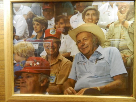 Forrest and President Jimmy Carter