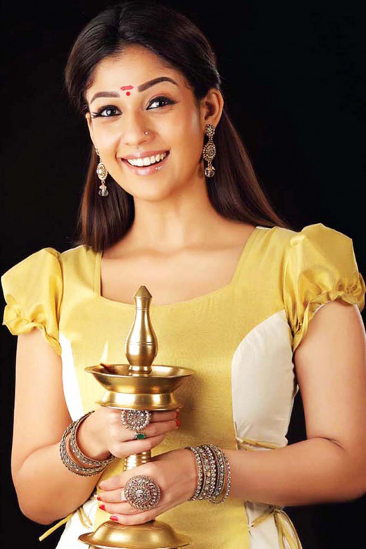 Traditional Kerala attire - After all she is a daughter of Kerala