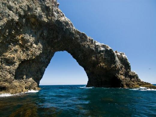 Arch Rock near Anacapa Island, Channel Island