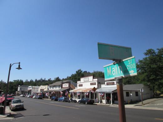 Main Street, Julian.